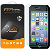 [2-Pack] Supershieldz for iPhone 4 / iPhone 4S Tempered Glass Screen Protector, Anti-Scratch, Anti-Fingerprint, Bubble Free, Lifetime Replacement Warranty