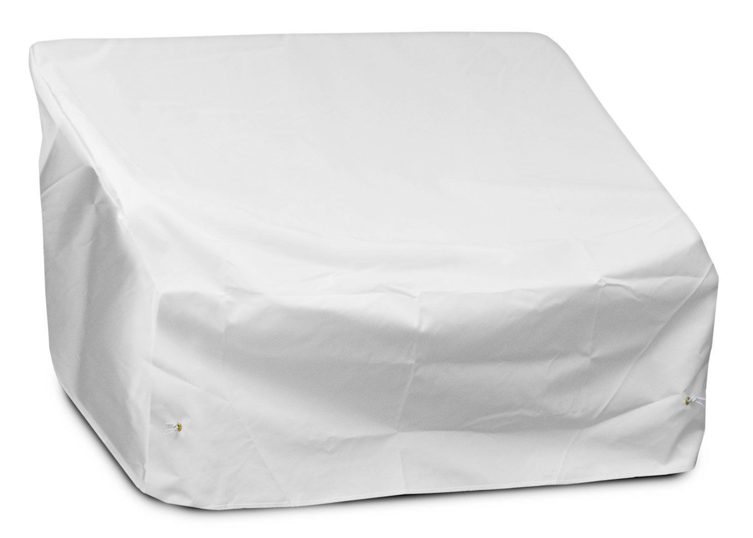 KoverRoos Weathermax 19147 Loveseat/Sofa Cover, 51-Inch Width by 33-Inch Diameter by 33-Inch Height, White