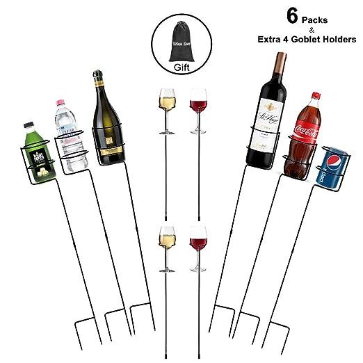 Urban Deco - Juego de 10 estacas Resistentes para Bebidas y ...
