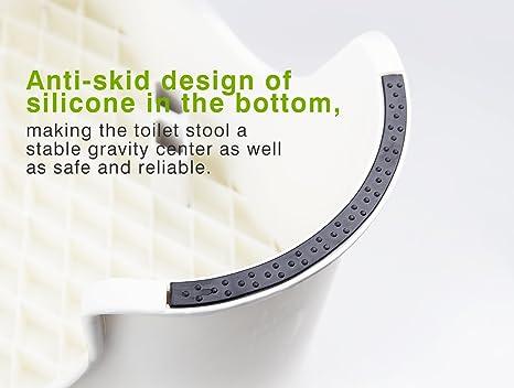 Houseasy sgabello fisiologico per wc wc sgabello bambini bagno
