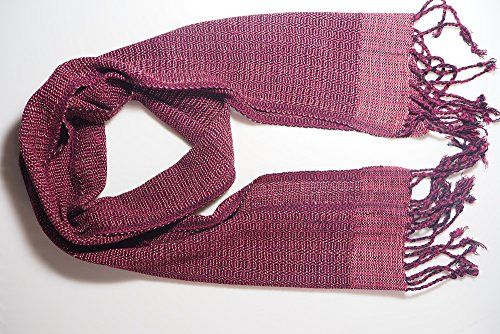 Women Scarf Woven Handmade from Northern Thailand Warm and Comfortable - Korea Micheal