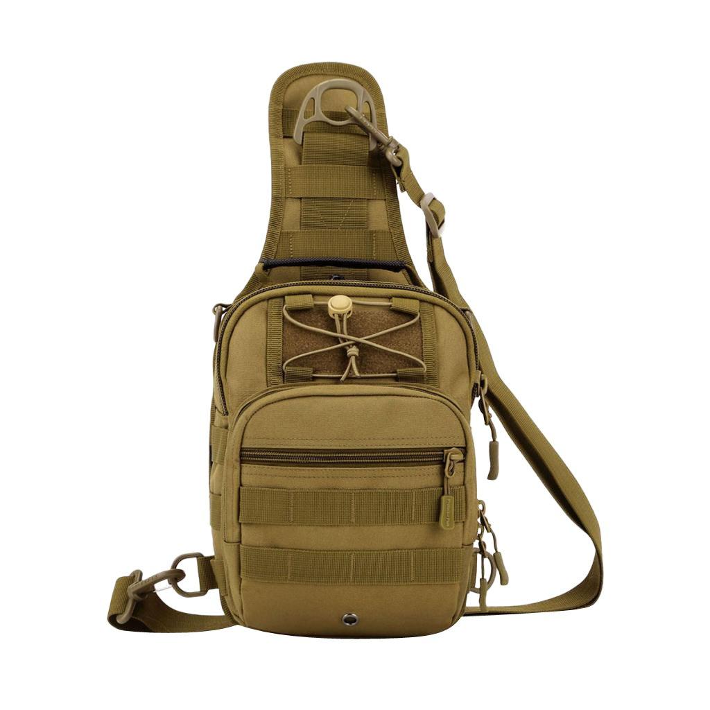 MagiDeal Sac /à Dos Portable Sacoche Molle Bandouliere Reglable Sac Escalade Voyage Camping
