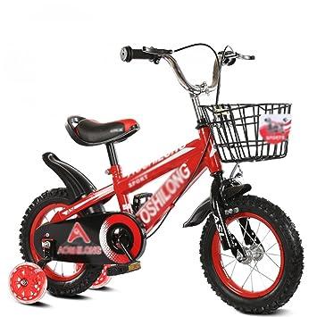 YMXLQQ Silla para niños con asiento ajustable de acero al carbono con cesta para niños con