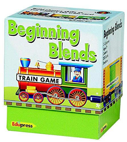 - Edupress EP2596 Train Game Beginning Blends, 3