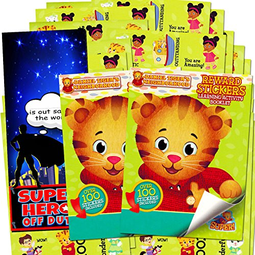 (Daniel Tiger Stickers ~ Over 200 Reward Stickers (Set of 2 Sticker Pads))