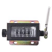 Manuelle Zählerzählung - Ziffernzähler Handzähler Mechanischer Arithmometer Manueller Zähler Clicker Counter