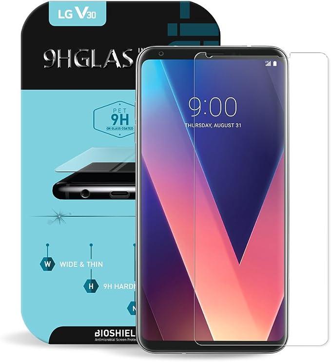 Biosshield Protector de Pantalla Compatible con LG V30 9H Flex ...
