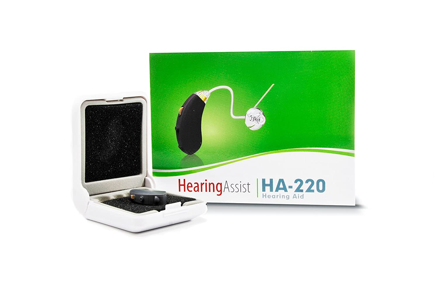 Hearing Assist Premium Digital Aid Amplifier Living Aids Amplifiers Accessories Small And Discreet Psap Up To 46db Amplification Ha 220 Health Personal Care