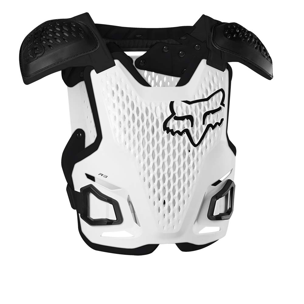 Fox Racing 2020 Youth R3 Roost Deflector (White) by Fox Racing
