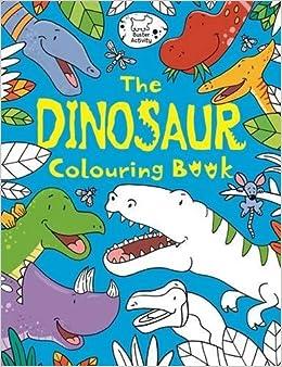 The Dinosaur Colouring Book: Jake McDonald: 9781780553511: Amazon ...