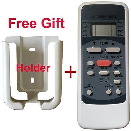 amazon com generic replacement air conditioner remote control for rh amazon com Mitsubishi Ductless Air Conditioner Mitsubishi Ductless Air Conditioner