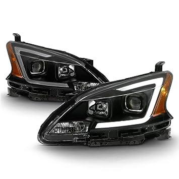 Amazon.com: ACANII – para 2013 – 2015 Nissan Sentra faros ...