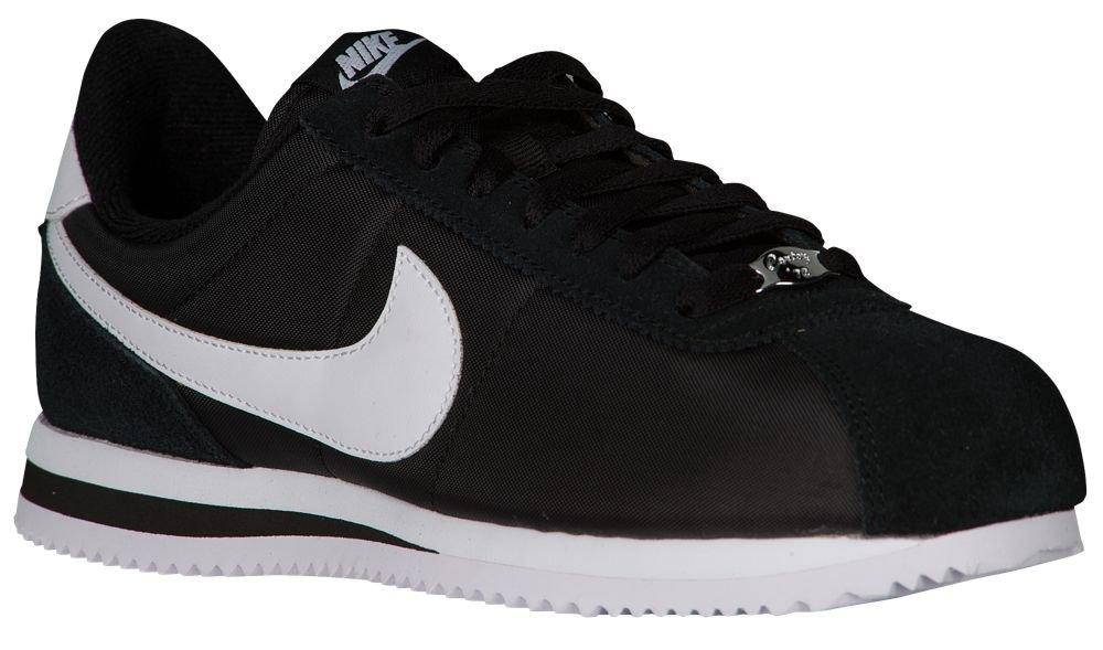 [ナイキ] Nike Cortez - メンズ ランニング [並行輸入品] B07121VSPZ US11.5 Black/White/Metallic Silver