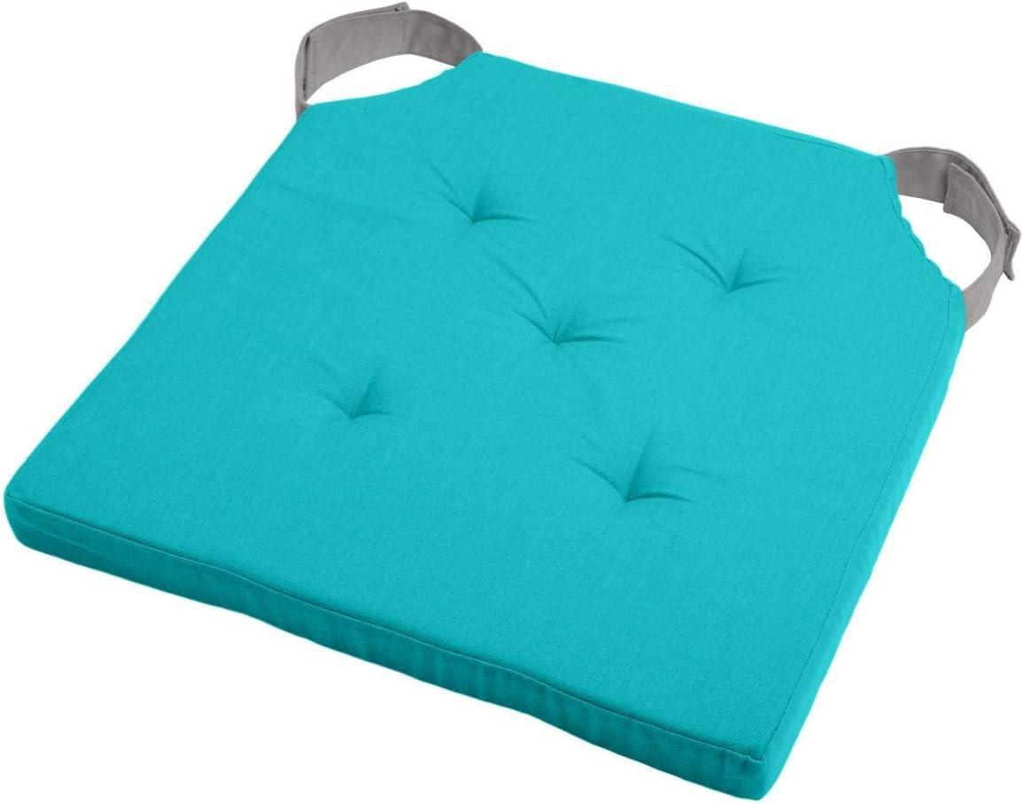 Lovely Casa Duo Cuscino Velcro, Cotone, Colore: Celadon