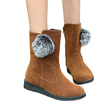 aeba3684f97b5 Amazon.com: Memela Clearance Sale!!Women Boot Cute Warm Short Boots ...