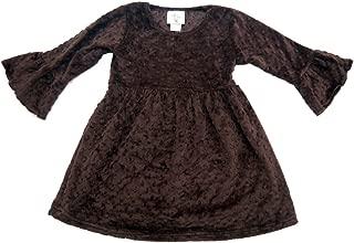 product image for Cheeky Banana Little Girls Minky Dot Dress - 10 Colors