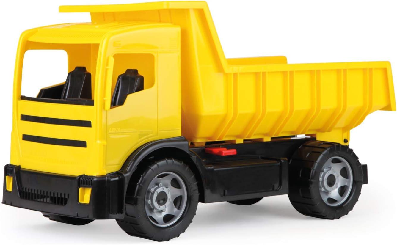 Lena 02053 vehículo de Juguete - Vehículos de Juguete (Negro, Amarillo, Camión, Europa, Tüv, 265 mm, 62 cm)