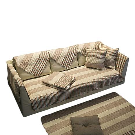 HInmdLndsj Super Suave de algodón Natural Fundas de sofá ...
