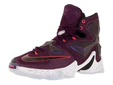 cc1b5b378a4 Image Unavailable. Image not available for. Color  Nike Men s Lebron XIII  Mulberry Blk Pr Pltnm Vvd Prpl Basketball Shoe -