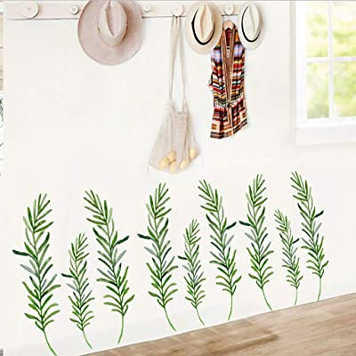 Ywoow Wall Stickers, Inkjet Wall Stickers Plant Flower Wall Stickers Home Background Wall Painting, Inkjet Wall Stickers Plant Flower Wall Stickers Home Background Wall Painting: Home & Kitchen