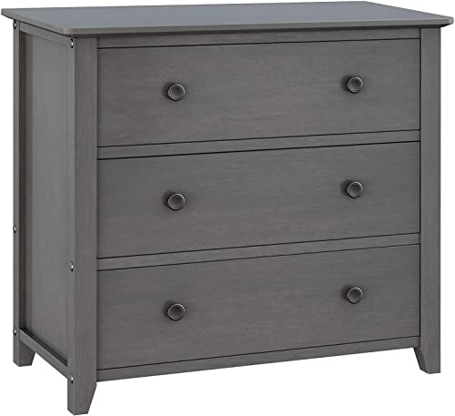 VASAGLE 3-Drawer Dresser