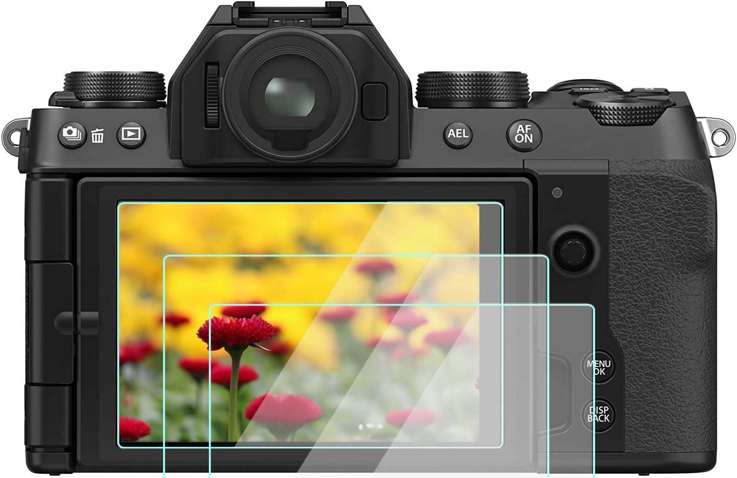 Komet Glas Lcd Displayschutzfolie Folien Kompatibel Für Fujifilm X