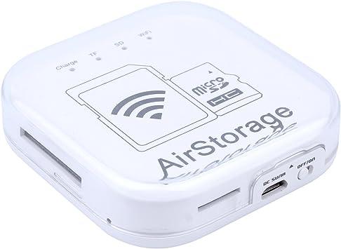 LIANG Disco Duro Externo con conexion WiFi para Tablet moviles de iOS y Androide y televisor, 16G 32G 64G (0G, Blanco): Amazon.es: Electrónica