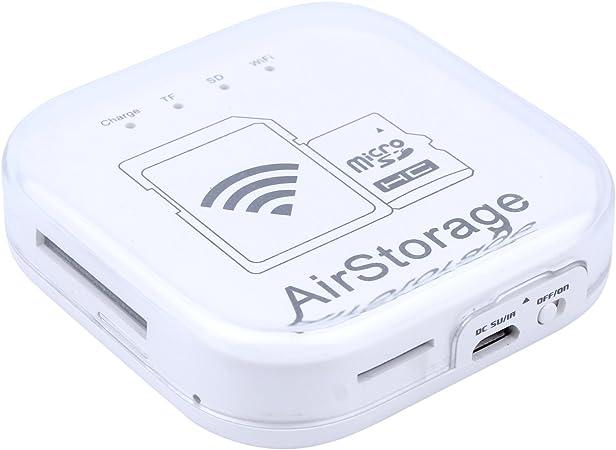 LIANG Disco Duro Externo con conexion WiFi para Tablet moviles de ...