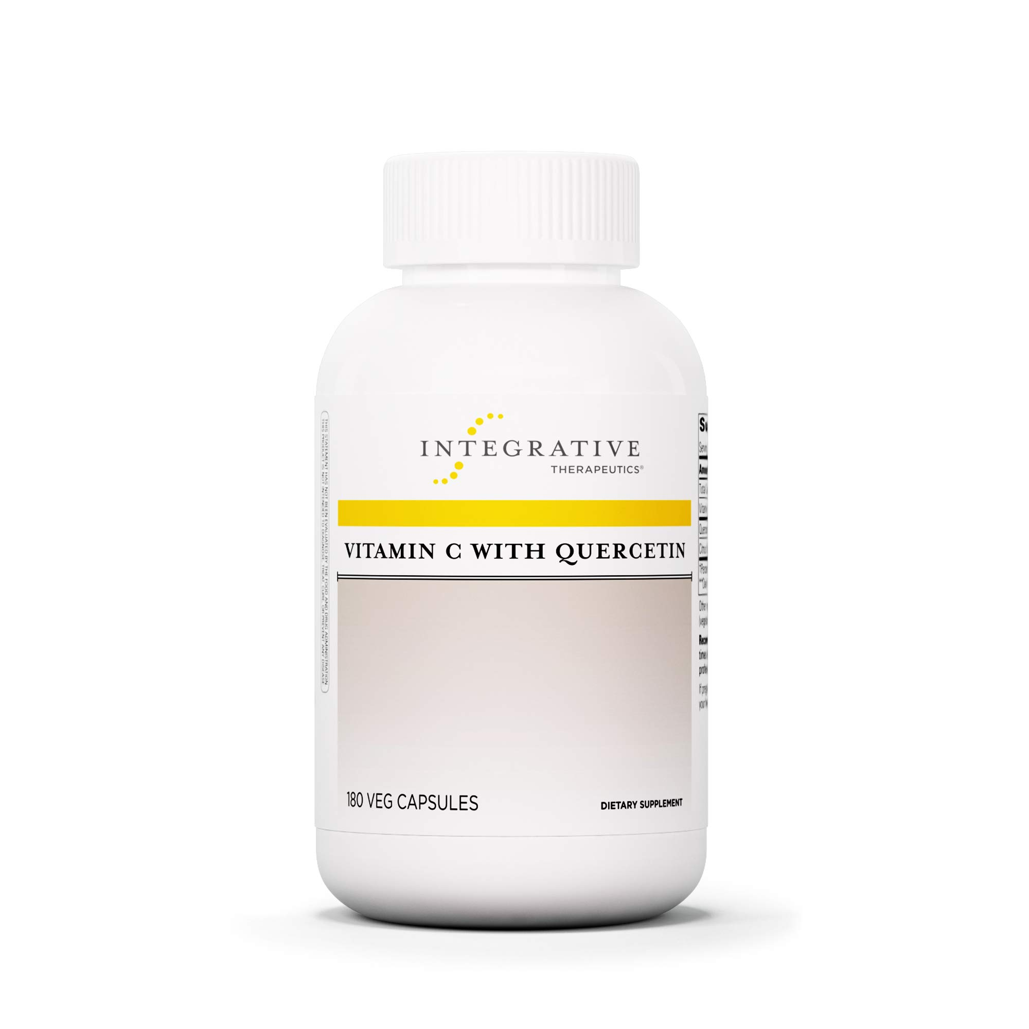 Integrative Therapeutics - Vitamin C with Quercetin - Supplement for Proper Immune Balance Support - 180 Capsules by Integrative Therapeutics