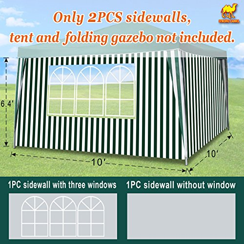 Strong Camel Sidewalls 10' L X6.4' W Size Side Panel for 10'
