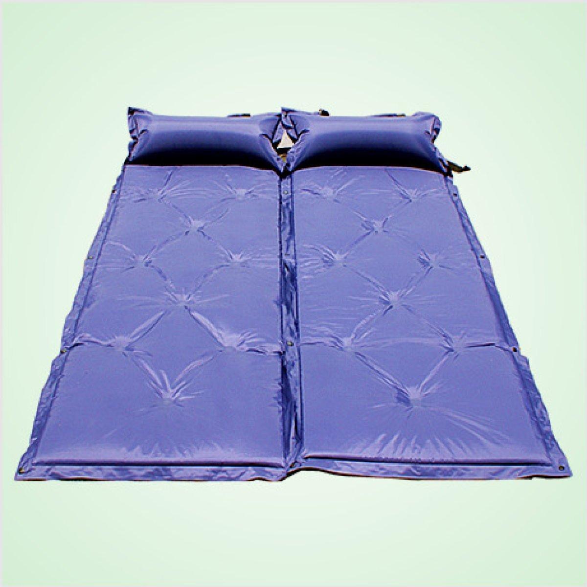Mit Einem Kissen-automatischen Aufblasbaren Auflage-Feuchtigkeits-Auflage-Zelt-Matten Kann Genäht Aufblasbare Auflage Sein