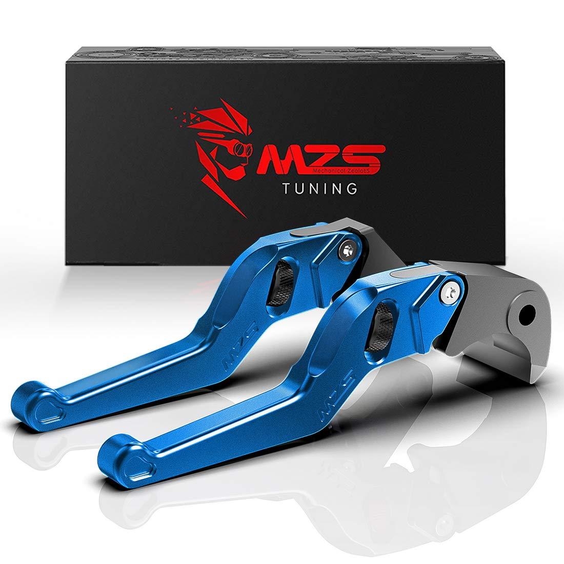 MZS Gold Short Levers Wheel Roller Brake Clutch Adjustment for CBR600 CBR 600 F2 F3 F4 F4i CB599 CB600 HORNET CB919 CBR900RR CB750 Magna 750 Shadow 600 1100 VT 600C 750C 1100C VT1300 VTX1300