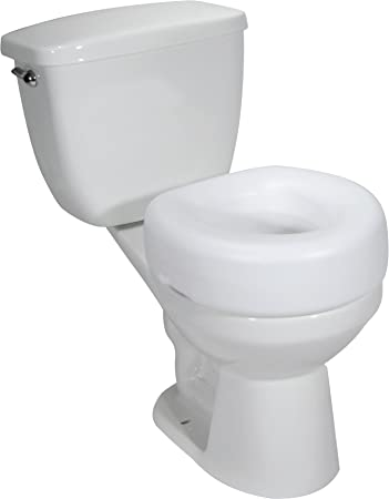 Incredible Drive Medical Raised Toilet Seat With No Arms White Case Of 3 Model 12040 3 Pdpeps Interior Chair Design Pdpepsorg
