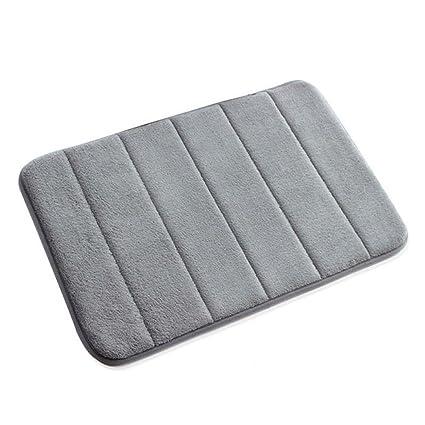 VANRA Bath Mat Bath Rugs Anti Slip Memory Foam Non Slip Bathroom Mat Soft