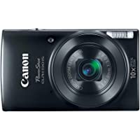 Canon PowerShot ELPH 190 Digital Camera w/ 10x Optical Zoom and Image Stabilization - Wi-Fi &…