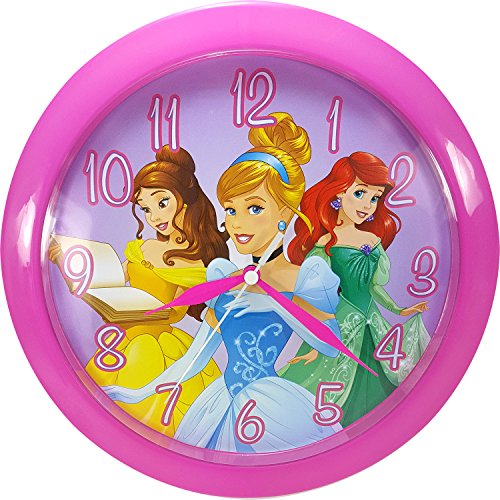 Ashton Sutton DC95253 Wall Clock (Clock Wall Princess)