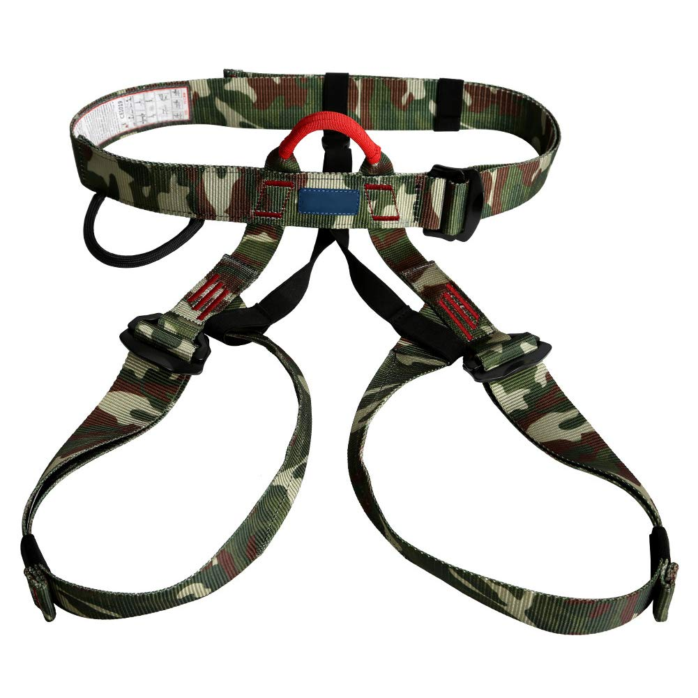 Outdoor Climbing Waist Leggings Belt, Half Height Sea Belt, Spider-Man Rescue Harness-Camouflage by HENRYY (Image #1)