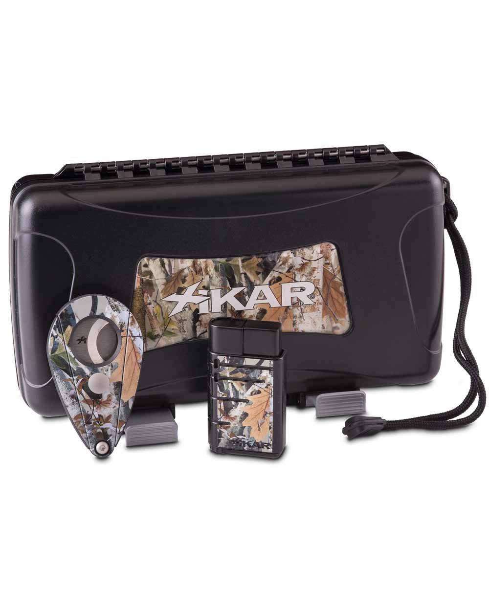Bullseye Limited Edition Gift Set Xi2 Camo Cutter Linea Single Flame Lighter Warranty