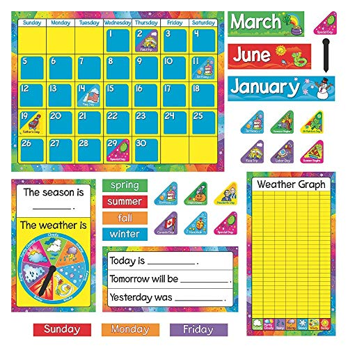Trend Enterprises Trend Enterprises Year Around Calendar Bulletin Board Set ()