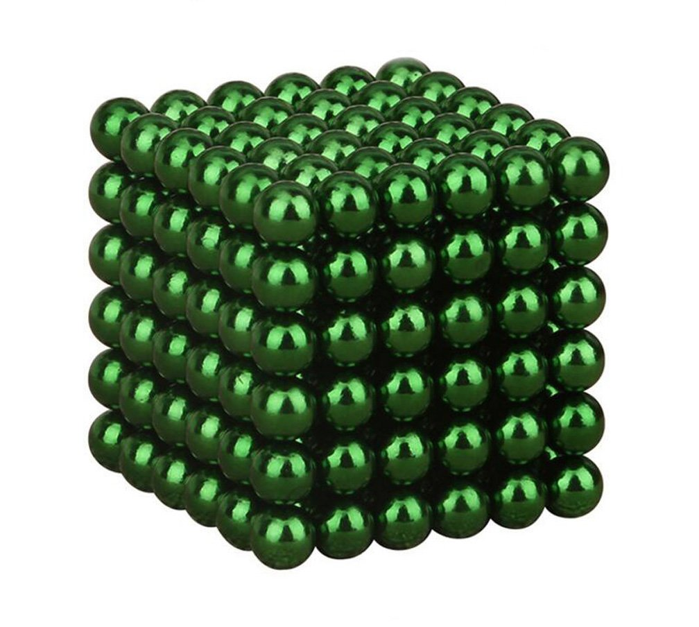 WYBAM Magnetic Cube Mashable Rollable Smashable Neocube Fidget Toy Buckyballs Educational Toys 216pcs for Adult and Children(5mm) by WYBAM (Image #2)