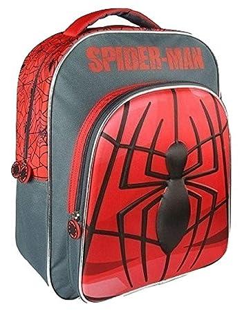 2dff18ea1b31e Amazon.com: COMIC / SUPERHERO Marvel Spiderman 3D Backpack 41cm ...