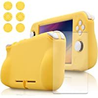 Accessories Kit for Nintendo Switch lite (Yellow)