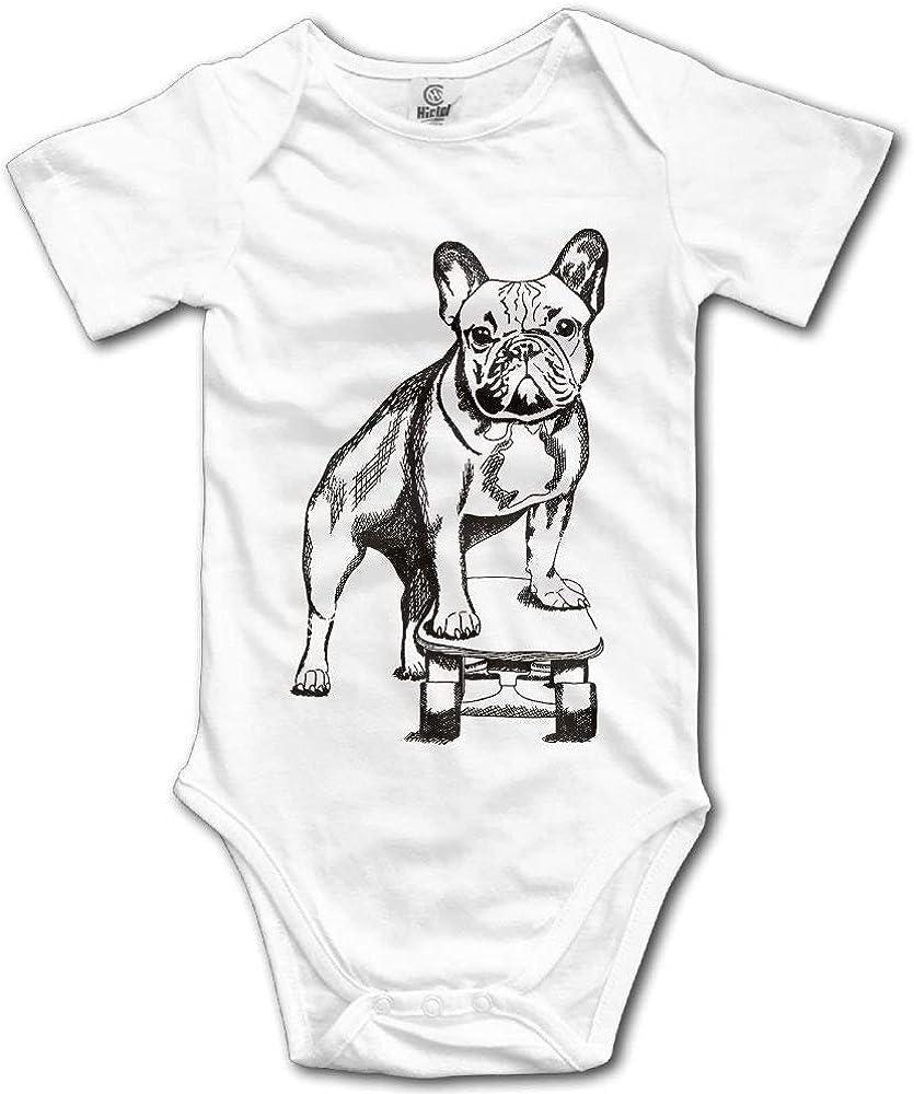French Bulldog Summer Infant Baby Rompers Cotton Short-Sleeved Leotard Romper Children Climbing