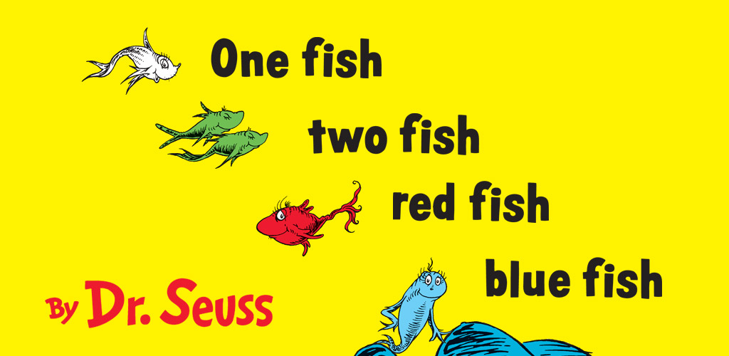 One Fish Two Fish Red Fish Blue Fish Dr Seuss Amazon