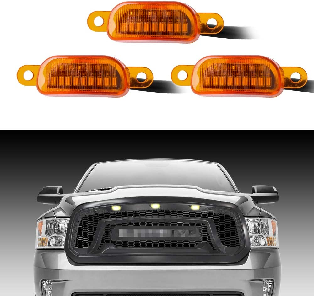 BA-BOLING grill light compatible with 2013-2018 Dodge Ram 1500 ...