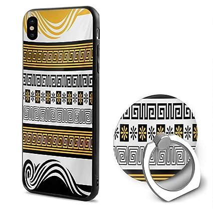 Amazon.com: Llavero griego, diseño geométrico de patrón de ...