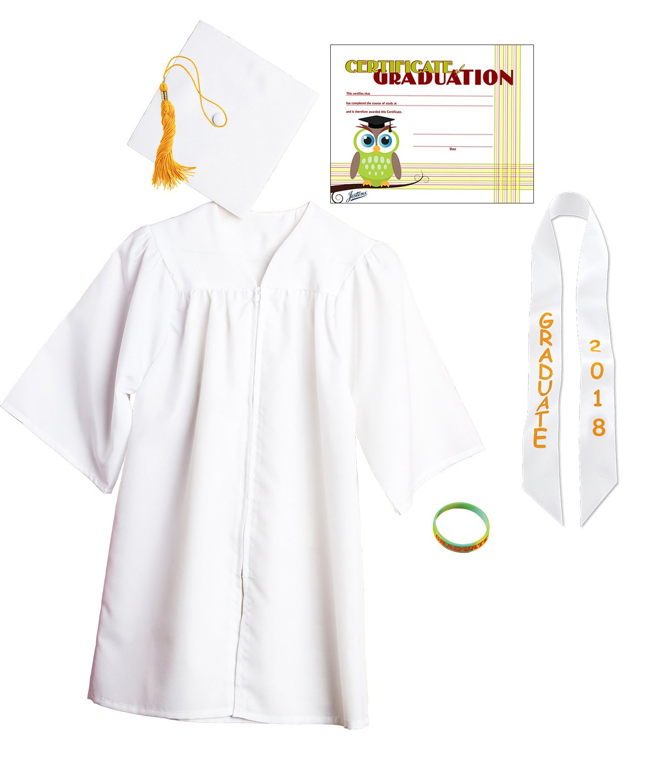 Amazon.com: Jostens Graduation Cap And Gown Package: Clothing