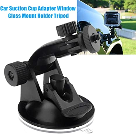 1//4 in-car Window Windshield Glass Suction Holder for Hero 1 2 3 4