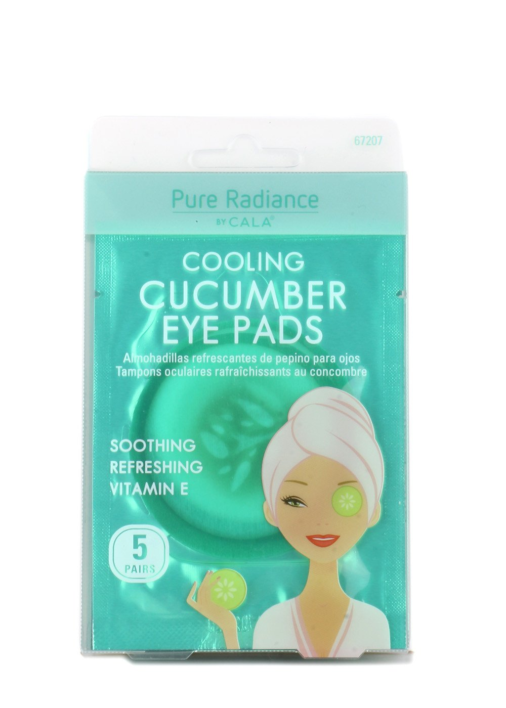 Cala Cooling cucumber eye pads 5 count, 5 Count