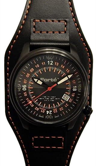 Forté serie Alpha Hombres 24hr-alpha-12 coleccionistas 24h Militar del ejército reloj de